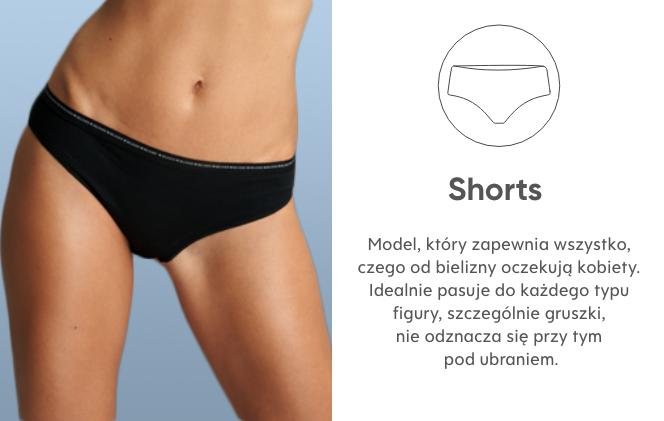 majtki typu shorts