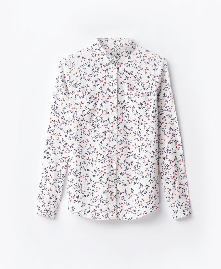 Koszula 100% wiskozy damska, biała, 36-44