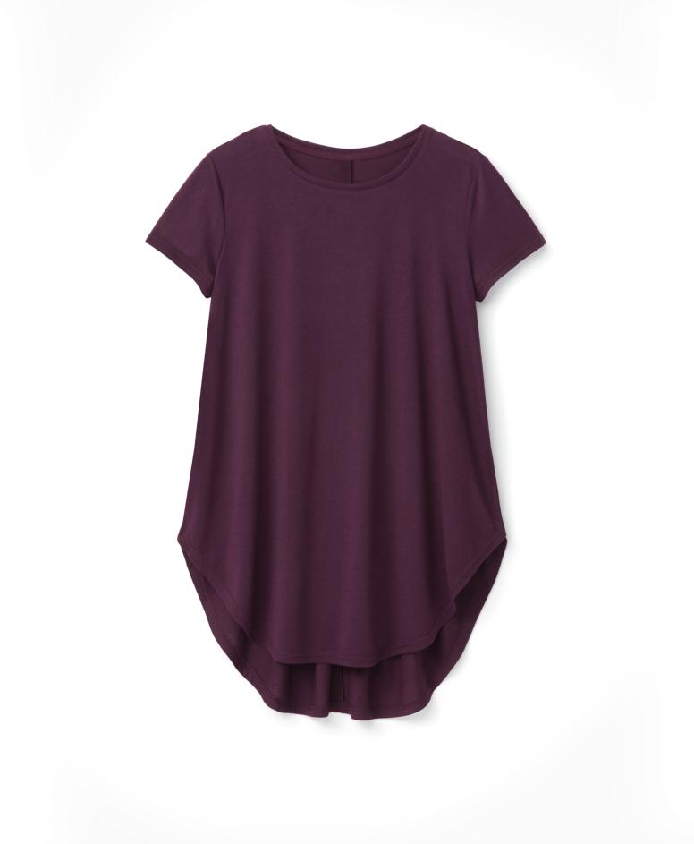 Koszulka damska, fioletowa, S-XXL