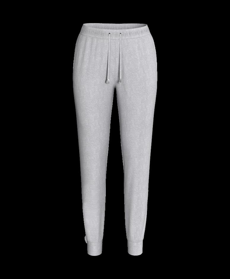 Spodnie dresowe, szary melanż, S-XXL