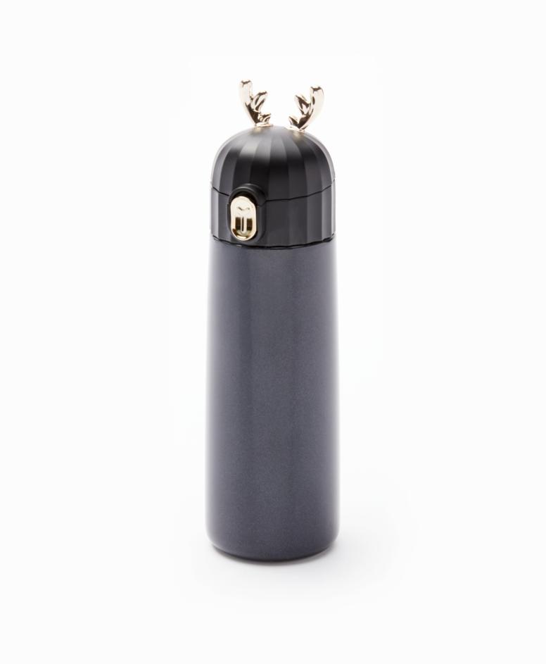 Kubek termiczny, czarny, poj. 350 ml