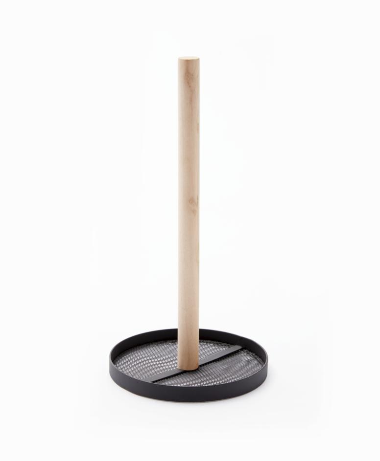 Stojak, czarny, ø 15 cm, wys. 29 cm