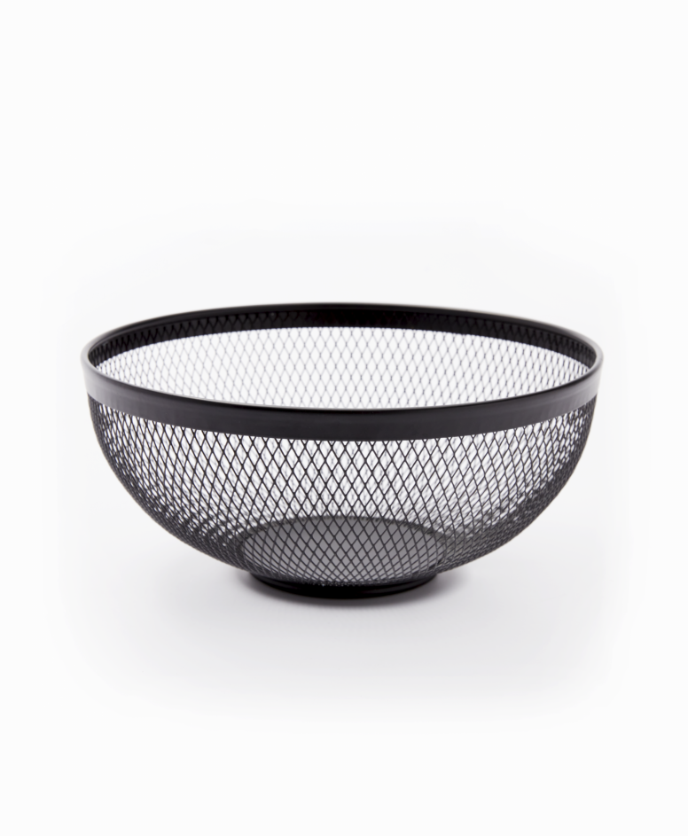 Koszyk, czarny, ø 25 cm