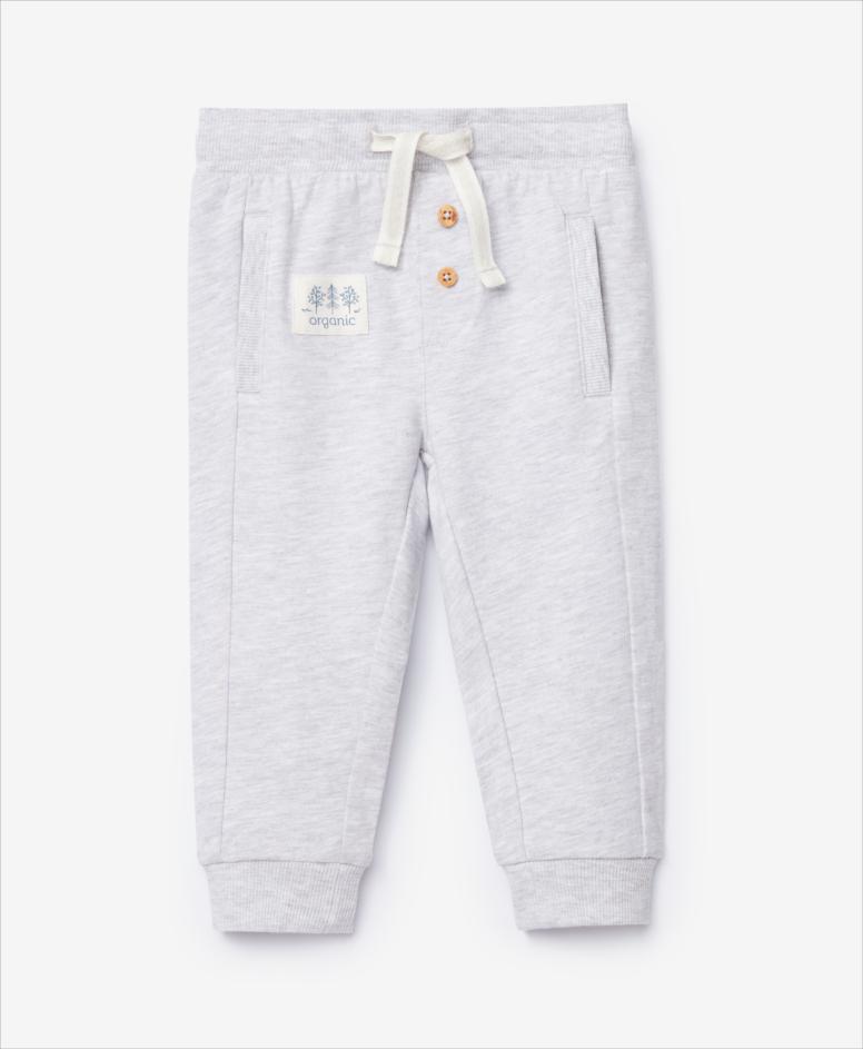 Spodnie dresowe niemowlęce, chłopięce, szare, rozmiary: 74-98 cm