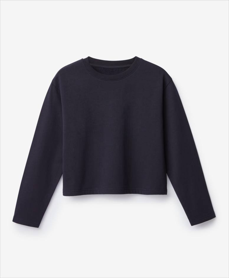 Bluza 100% bawełny dziewczęca, granatowa, rozmiary: 134-170 cm