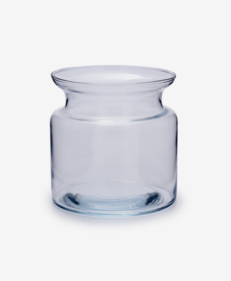 Słoik dekoracyjny szklany, transparentny, ø 15 cm, wys. 15 cm