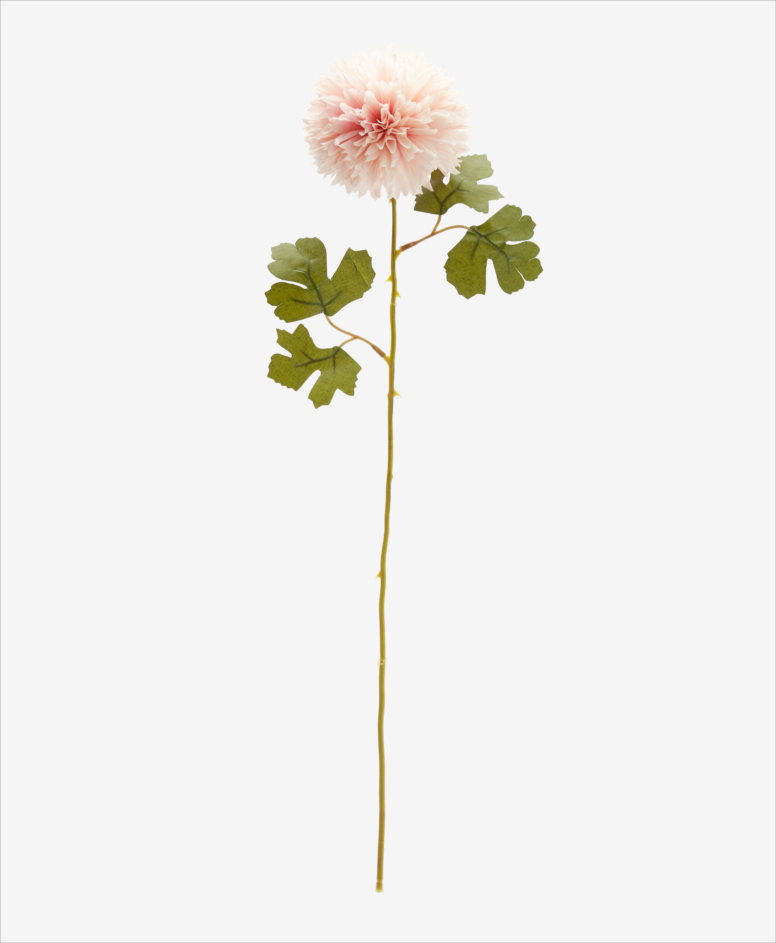 Sztuczny kwiat, różne wzory, różowy, wys. 67-80 cm