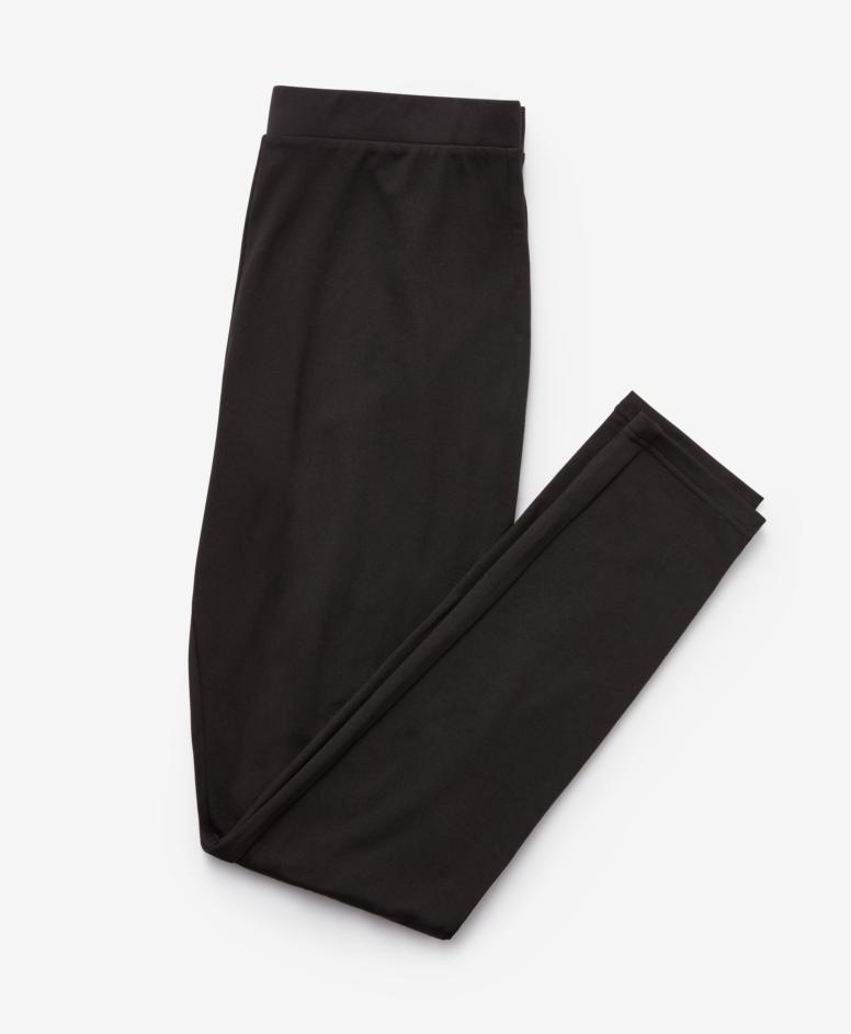 Legginsy z ocieplaniem, kolor czarny, rozmiary: S-XXL