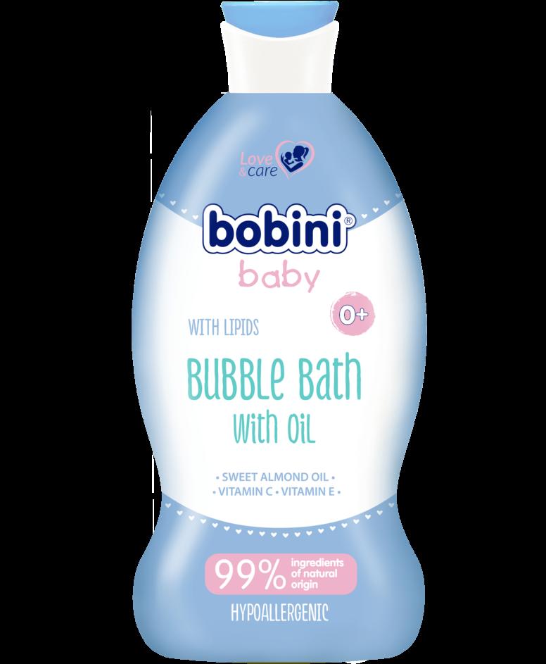 Lipidowy płyn do kąpieli, Bobini Baby, 330 ml