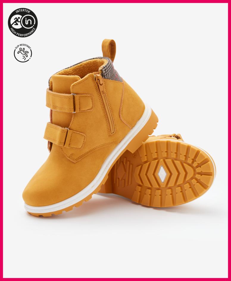 Buty chłopięce, kolor brązowy, rozmiary: 22-32