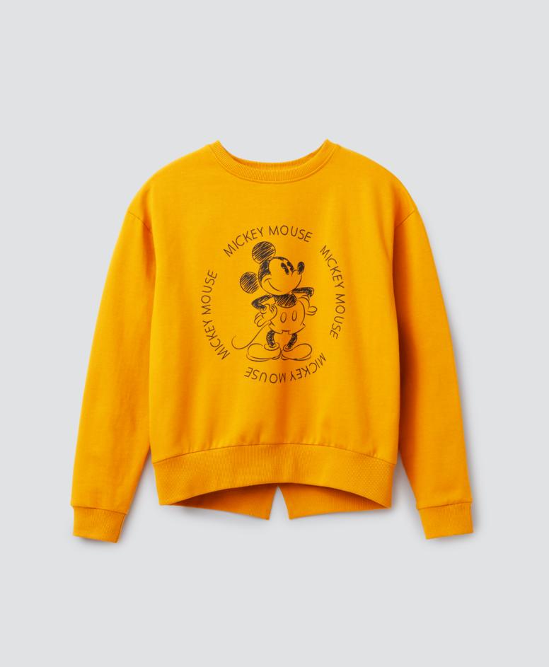 Bluza dziewczęca, kolor musztardowy, rozmiary: 134-170 cm