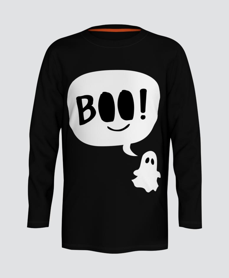 Koszulka chłopięca, kolor czarny, rozmiary: 104-134 cm