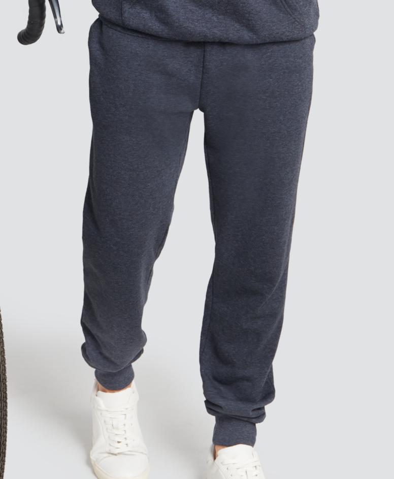 Spodnie dresowe z wiązaniem, kolor ciemny szary, rozmiary: M-XXL