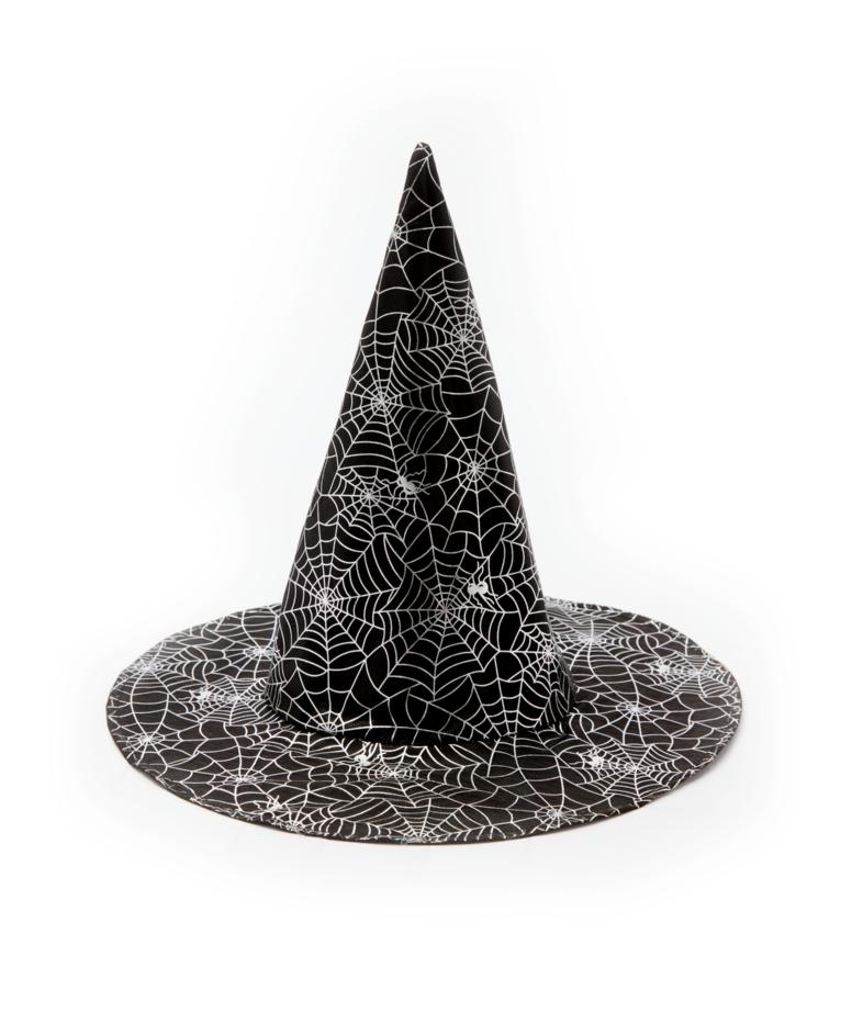 Kapelusz czarownicy ze wzorem, różne kolory, ø 38 cm