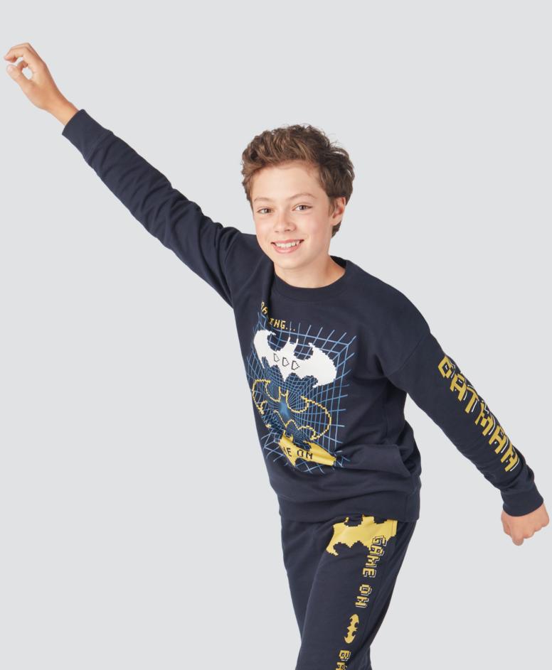 Bluza chłopięca, kolor granatowy, rozmiary: 134-170 cm