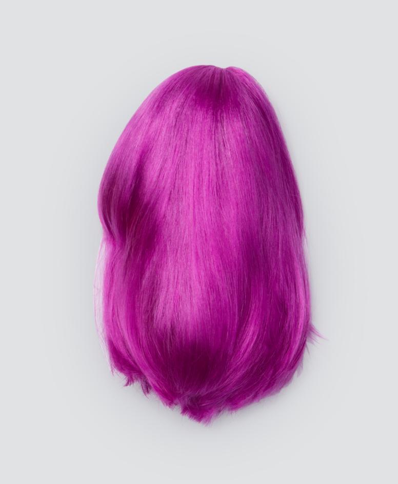 Peruka dziecięca, kolor fioletowy