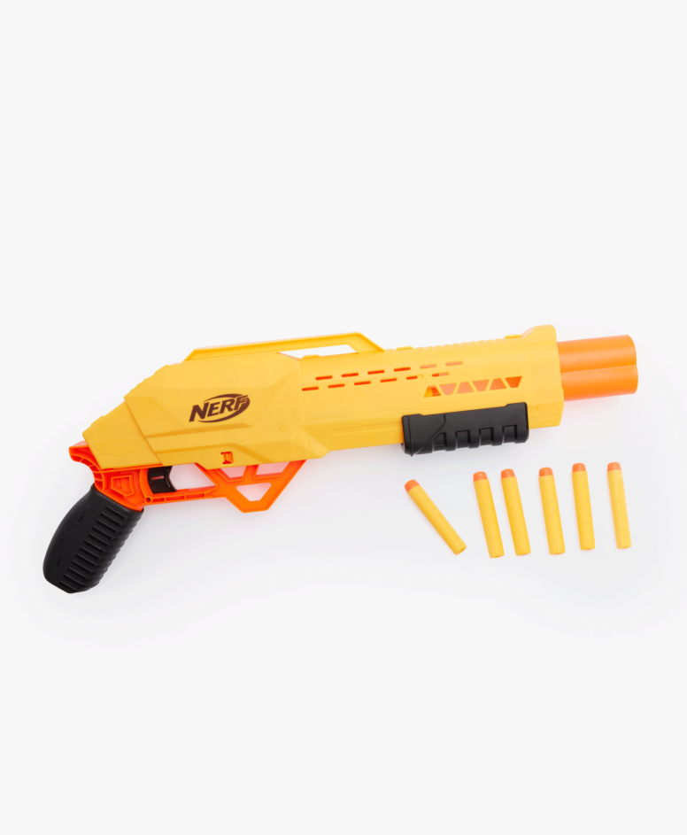Wyrzutnia Nerf Alpha Strike dziecięca, kolor żółto-pomarańczowo-czarny