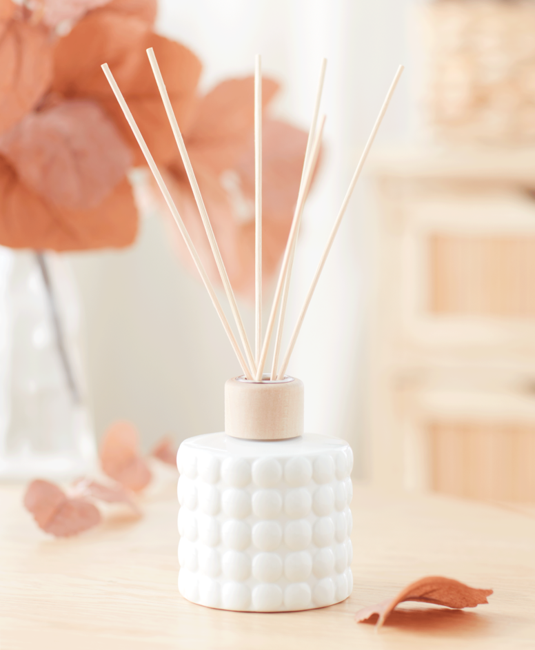 Mirisni difuzer, sa štapićima,beli, zapremina: 100 ml