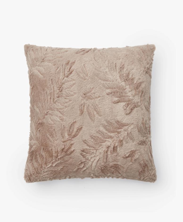 Poszewka na poduszkę, kolor beżowy, wymiary: 40 x 40 cm
