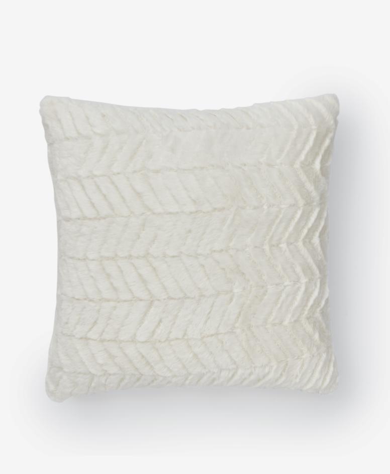 Poszewka na poduszkę, kolor biały, wymiary: 40 x 40 cm