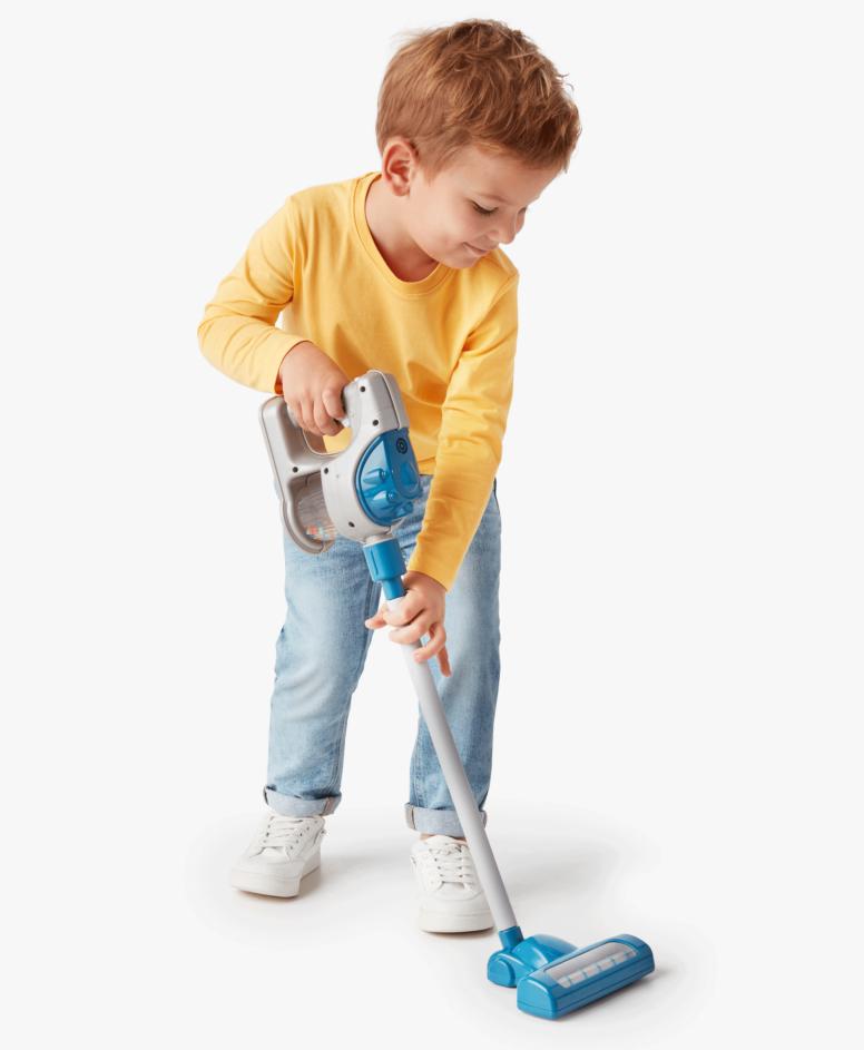 Igračka za decu, uspravni usisivač