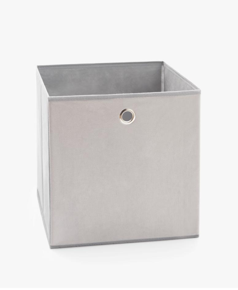 Sklopiva kutija, siva, dimenzije: 30 x 30 x 30 cm