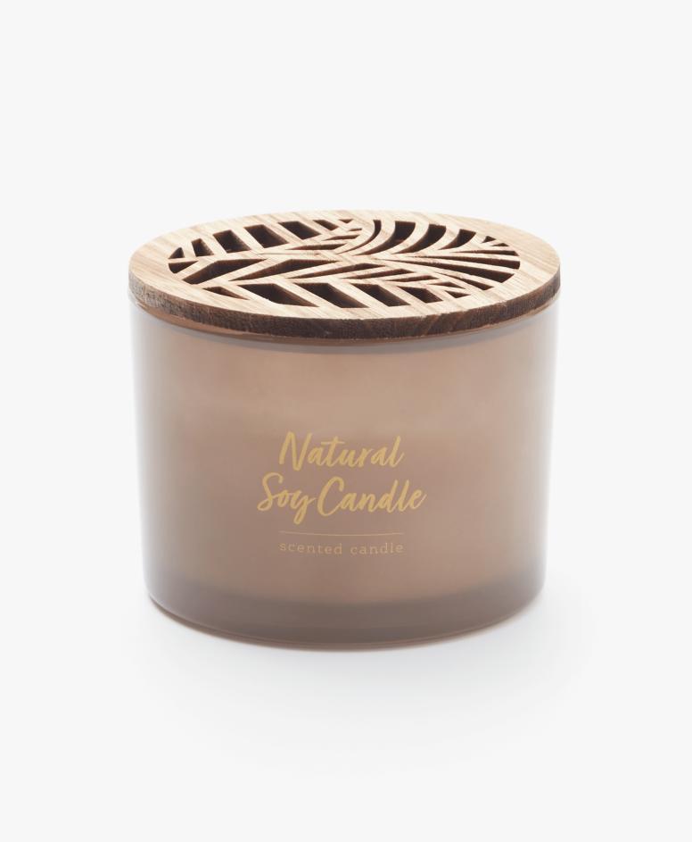 Mirisna sveća od soje u staklenoj posudi, različite boje, dimenzije: ø 11 cm, visina: 8,5 cm