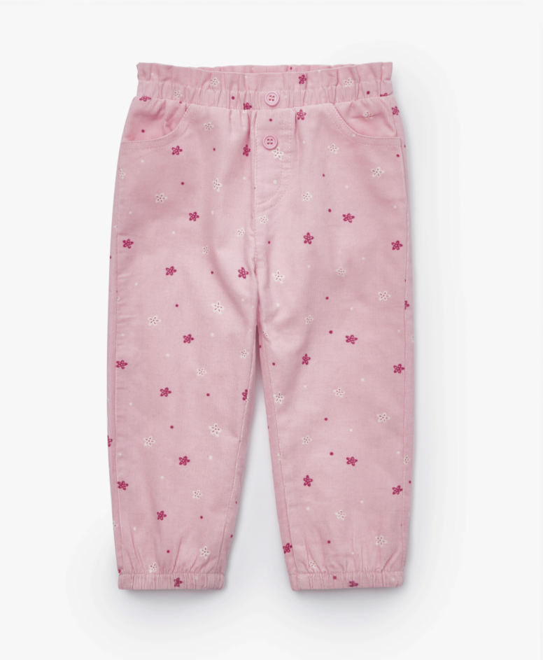Pantalone za devojčice, roze, veličine: 80-98 cm