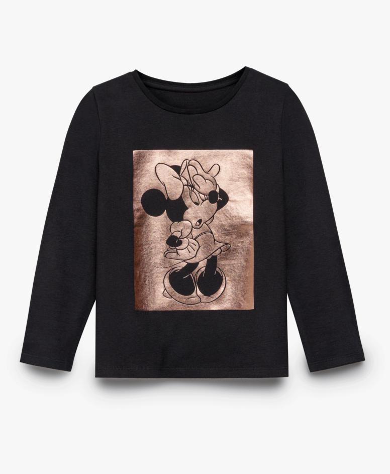 Majica za devojčice, crna, veličine: 104-134 cm