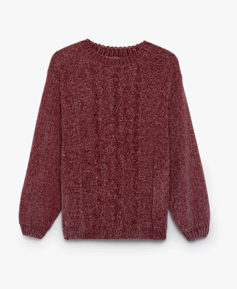 Džemper za žene, bordo, veličine: S-XXL