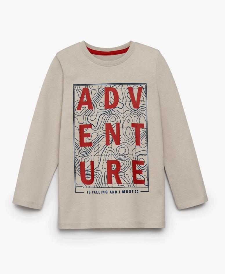 Majica za dečake, bež, veličine: 104-134 cm