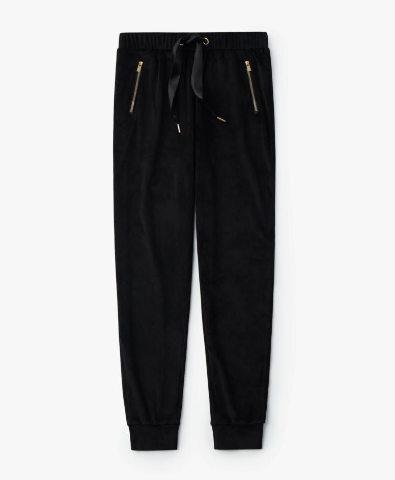 Spodnie dresowe damskie, kolor czarny, rozmiary: S-XXL