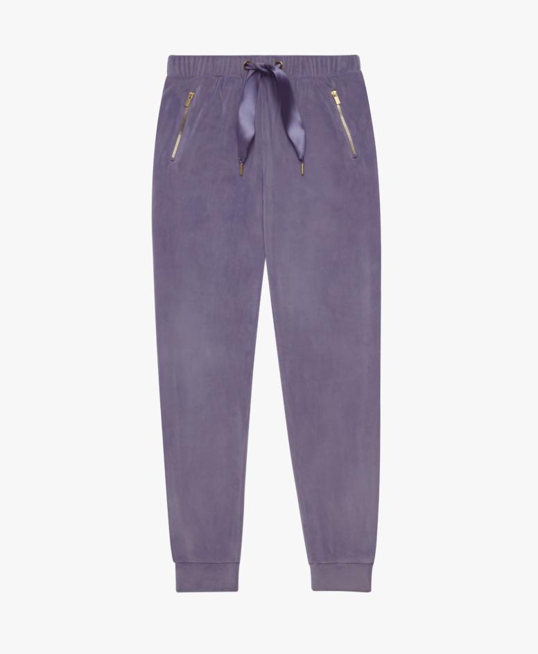 Spodnie dresowe damskie, kolor fioletowy, rozmiary: S-XXL